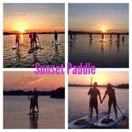 sunset paddle boarding singer island, jupiter and west palm beach