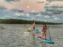 Stand Up Amp Shine Night Sup Paddle Boarding Glow Tour